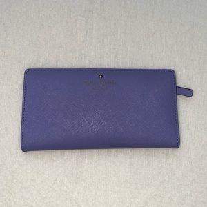 Kate spade Cedar Street thistle wallet